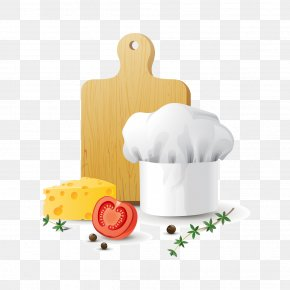 Vector Chef Hat - Food Theme Illustration PNG
