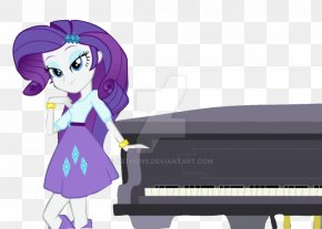 Piano My Little Pony Equestria Girls Rainbow Rocks - Rarity Applejack My Little Pony: Equestria Girls Image PNG