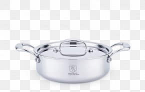 Frying Pan - Lid Cookware Stainless Steel Stock Pots PNG