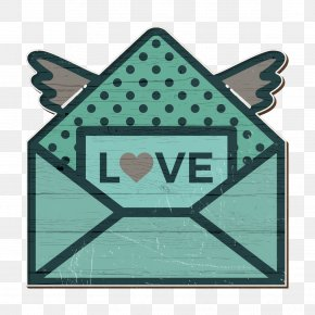 Triangle Logo - Love Icon Mail Icon Valentines Icon PNG