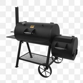 Barbecue - Barbecue Chicken BBQ Smoker Smoking Char-Broil Oklahoma Joe's Charcoal Smoker And Grill PNG