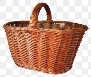 Shopping Basket - Picnic Basket PNG