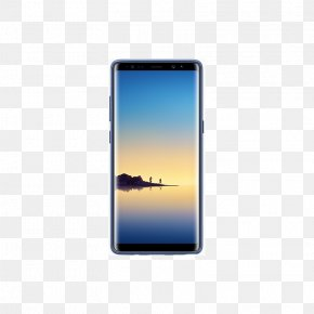 Single-Sim64 GBMaple GoldUnlockedGSM Official Samsung Galaxy Note 8 Alcantara Cover Case SmartphoneSamsung - Samsung Galaxy Note8 Clear Protective Cover Samsung Note8 International Version PNG