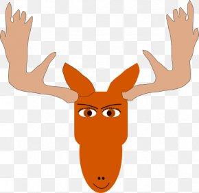 Ceiling Fan Clipart - Moose Elk Clip Art PNG