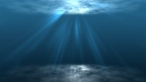 Sun Rays - Sunlight Ray Underwater Clip Art PNG