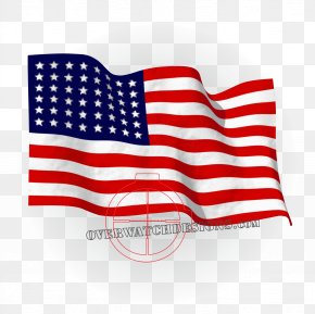 American Flag - Flag Of The United States Thirteen Colonies Animation PNG