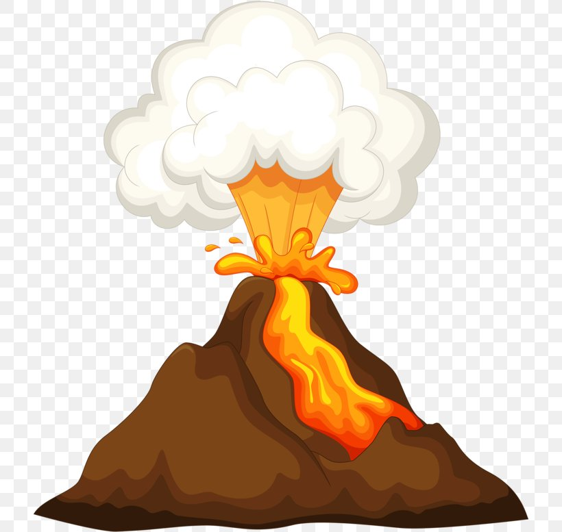 Mountain Cartoon Png 723x777px Volcano Cartoon Lava Mount