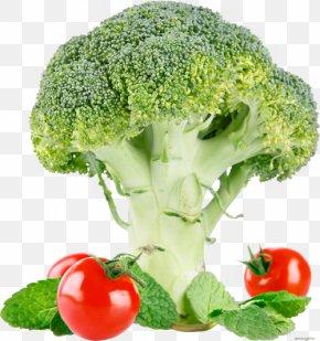 Broccoli Ingredients - Broccoli Cauliflower Tomato PNG