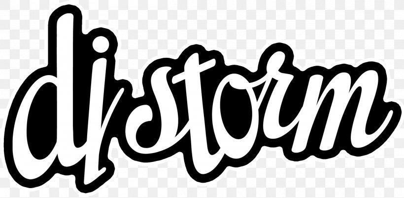 Logo Disc Jockey Brand Phonograph Record Font, PNG, 2406x1179px, Logo, Area, Black, Black And White, Black M Download Free