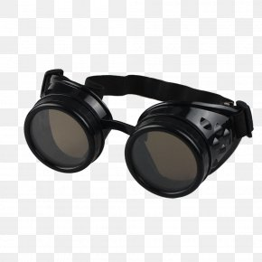 Men's Glasses - Steampunk Fashion Goggles Goth Subculture Eyewear PNG
