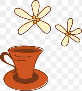 Cartoon Coffee - Coffee Cup Cafe Hot Chocolate Clip Art PNG