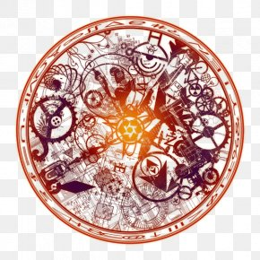 Summons Dark Magic Circle - Magic Circle Shikigami Icon PNG