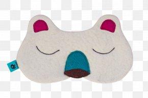Sleep Mask - Polar Bear Blindfold Hibernation Sleep PNG