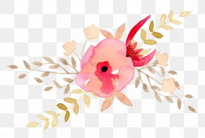 Small Fresh Hand-painted,Watercolor Flowers - Watercolor Painting Flower Clip Art PNG