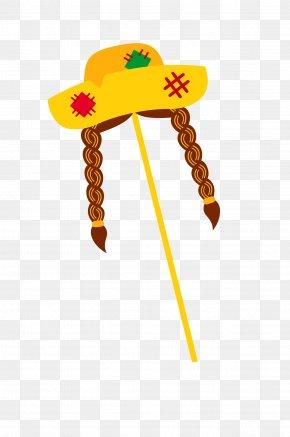 Straw Hat - Wig Illustration PNG