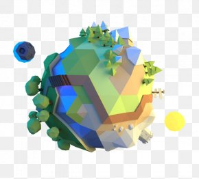 Low Poly - Low Poly Graphic Design Behance PNG