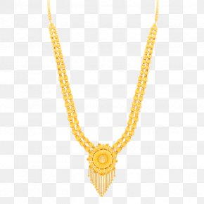 NECKLACE - Jewellery Necklace Earring Chain Gold PNG