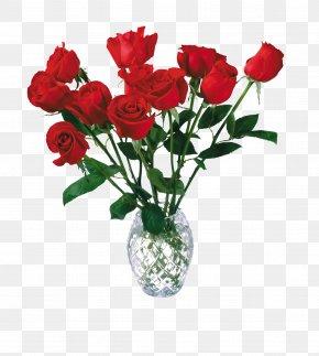 Flower Vase - Artificial Flower Rose Desktop Wallpaper Display Resolution PNG