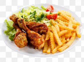Fried Chicken Pasta Salad - Buffalo Wing Fried Chicken French Fries Fast Food Chicken Fingers PNG