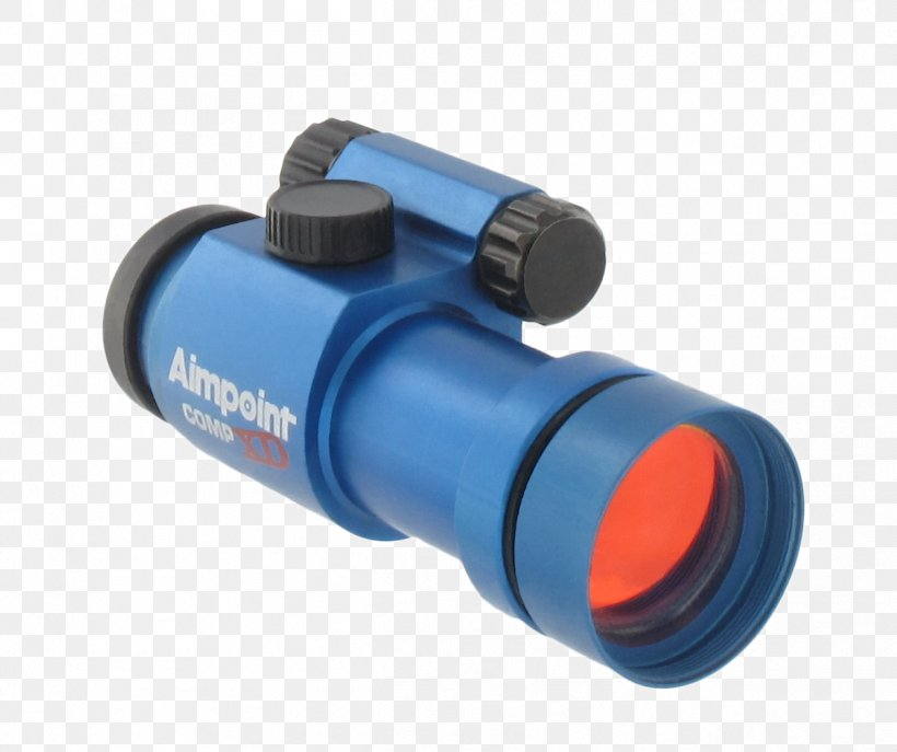 Aimpoint AB Reflector Sight Red Dot Sight Telescopic Sight, PNG, 1201x1007px, Aimpoint Ab, Binoculars, Blue, Cylinder, Elcan Optical Technologies Download Free