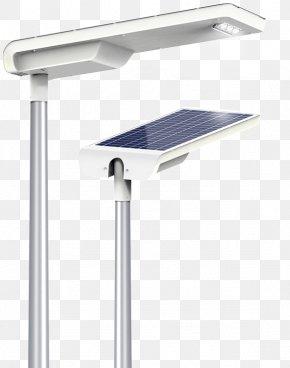 Light - Solar Street Light Solar Energy Light Fixture PNG
