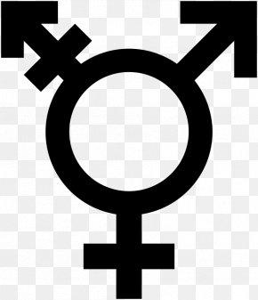 Symbol - Gender Symbol Transgender Gender Identity PNG