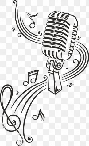 Microphone - Microphone Vector Graphics Musical Note Clip Art PNG