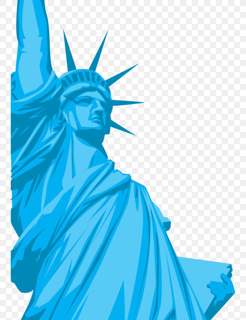 Statue Of Liberty Liberty State Park Ellis Island Statue Of Freedom Clip Art, PNG, 748x1067px, Statue Of Liberty, Aqua, Art, Artwork, Azure Download Free