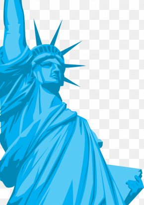 Statue Of Liberty Art - Statue Of Liberty Liberty State Park Ellis Island Statue Of Freedom Clip Art PNG