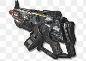Machine Gun - Quake Champions Firearm Heavy Machine Gun Weapon PNG