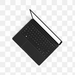 Black Computer - Computer Keyboard Laptop Download PNG