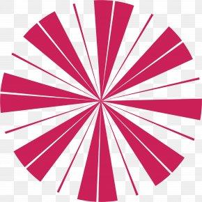 Lovely Circle - Visual Arts Sunburst Clip Art PNG