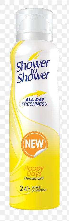 Shower - Lotion Deodorant Aerosol Spray Shower PNG