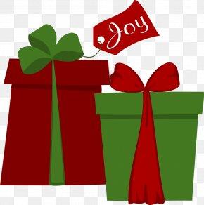 Small Present Cliparts - Holiday Christmas Santa Claus Clip Art PNG
