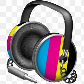 Color Headphones - ITunes Apple Icon Image Format Icon PNG
