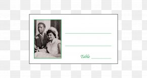 Wedding Place - Picture Frames Teal Rectangle Font PNG