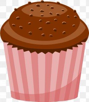 Chocolate Cake - Cupcake Chocolate Cake Muffin Clip Art PNG