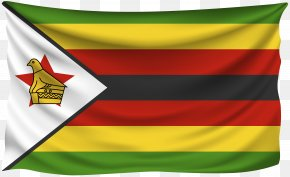 Botswana National Flag - Flag Of Zimbabwe PNG