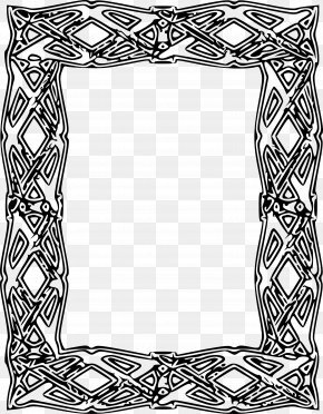 Frame Outline Cliparts - Picture Frame Clip Art PNG