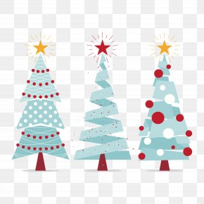 Vector Christmas Tree - Christmas Tree Christmas Ornament Christmas Decoration New Year PNG