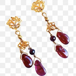 Ruby - Earring Ruby Body Jewellery Necklace PNG