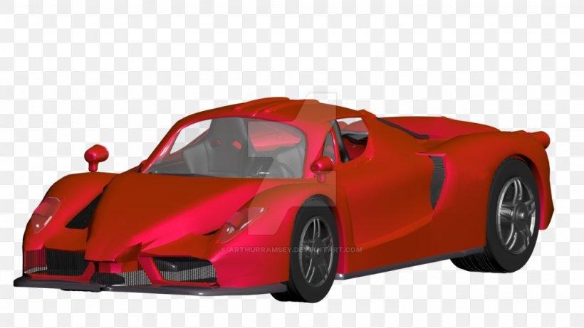 Sports Car Enzo Ferrari Luxury Vehicle Supercar, PNG, 1024x576px, Car, Auto Racing, Automotive Design, Enzo Ferrari, Ferrari Download Free