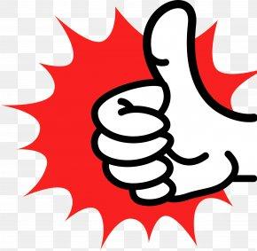 Thumb Up - Thumb Signal Clip Art PNG