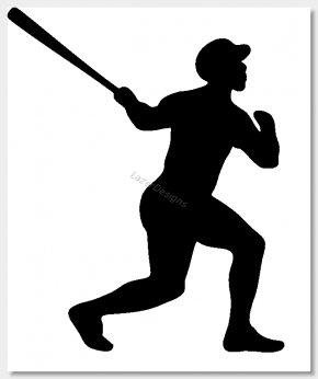 Baseball Clips - Baseball Wall Decal Clip Art PNG