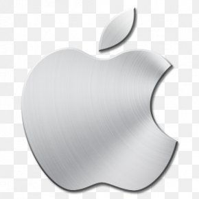 Brushed Metal Apple Mac Icon - IPhone Apple Icon Image Format PNG