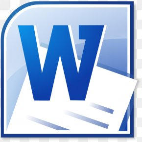 Computer Class Pictures - Microsoft Word Formatted Text Document Icon PNG