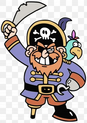 Pleased Orthography - Piracy Cartoon PNG