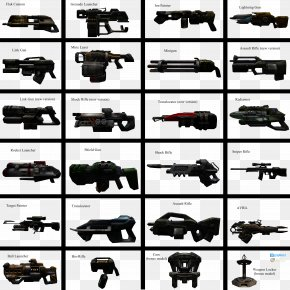 Grenade Launcher - Unreal Tournament 2004 Weapon Mod Art PNG