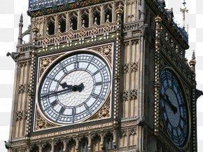 Big Ben - Big Ben Palace Of Westminster Clock Tower Tourist Attraction Travel PNG