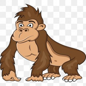 Ape Western Gorilla Clip Art PNG